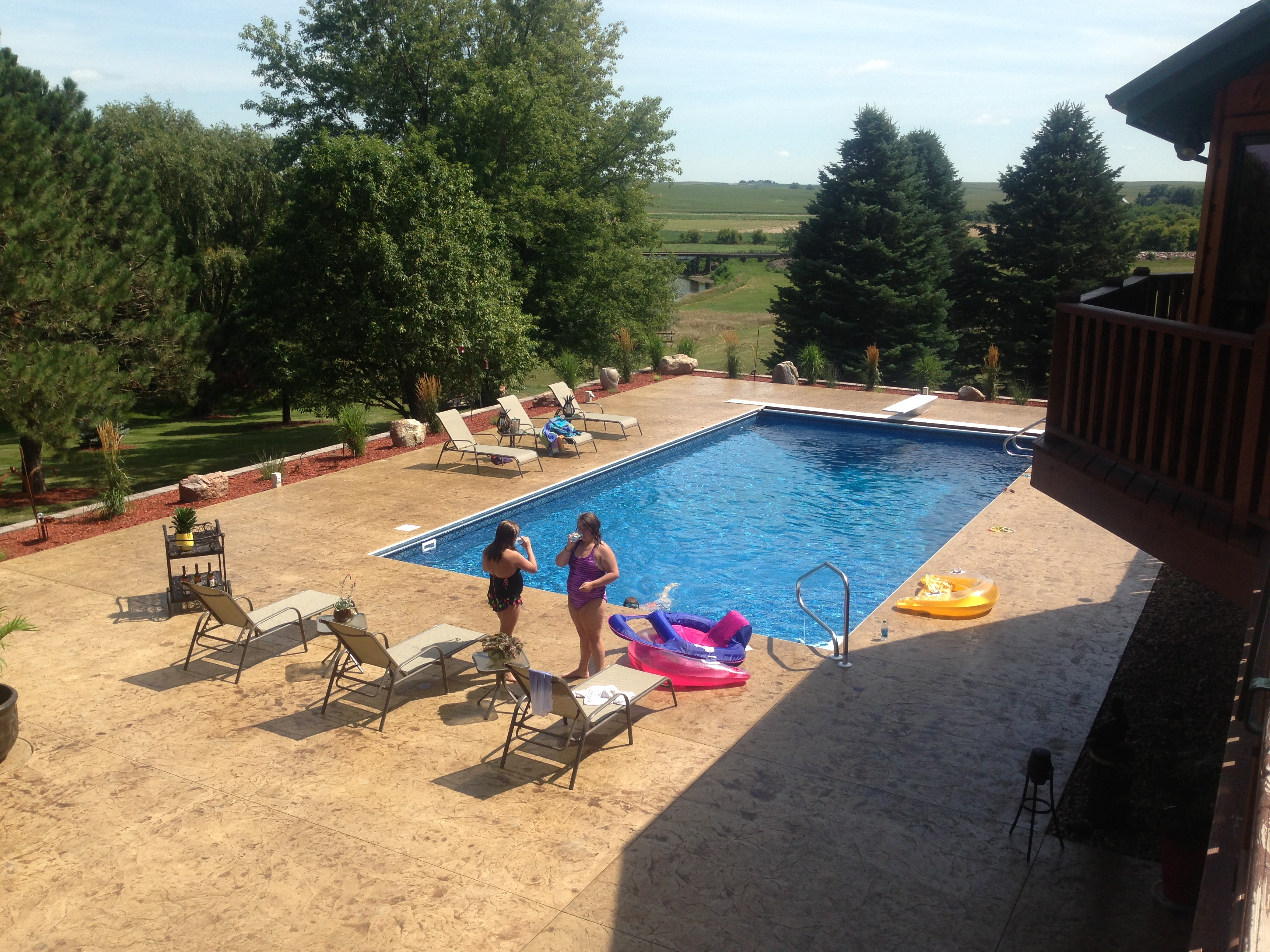 combined pool sioux city4 hot tubs sioux city above ground swimming pools patio furniture