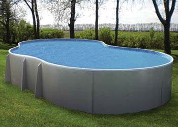 Radiant freeform pool hot tubs sioux city above ground swimming pools patio furniture for Above ground swimming pool dealers